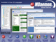 MDaemon Email Server for Windows screenshot